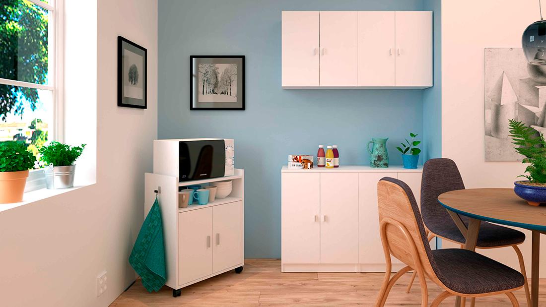 Amueblar pequeñas áreas de descanso y offices con multiusos