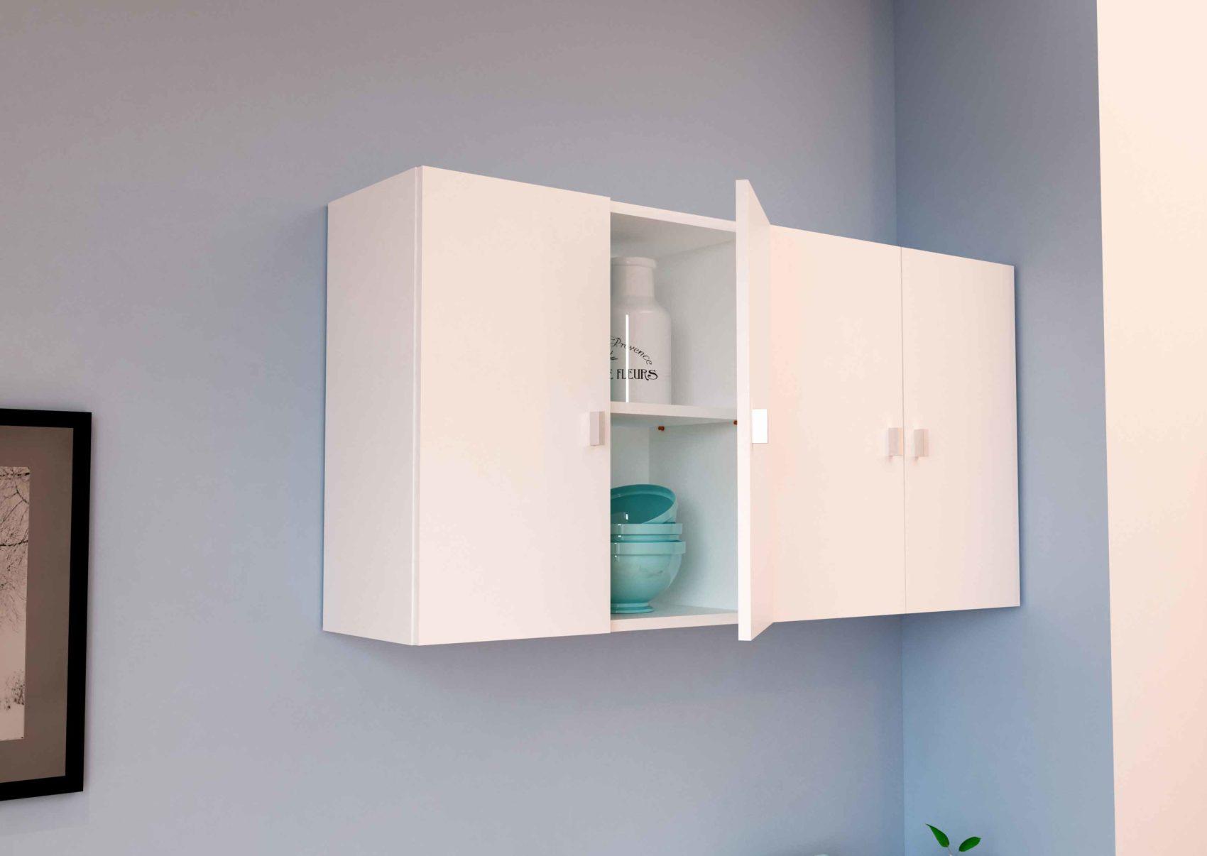 mueble de colgar blanco