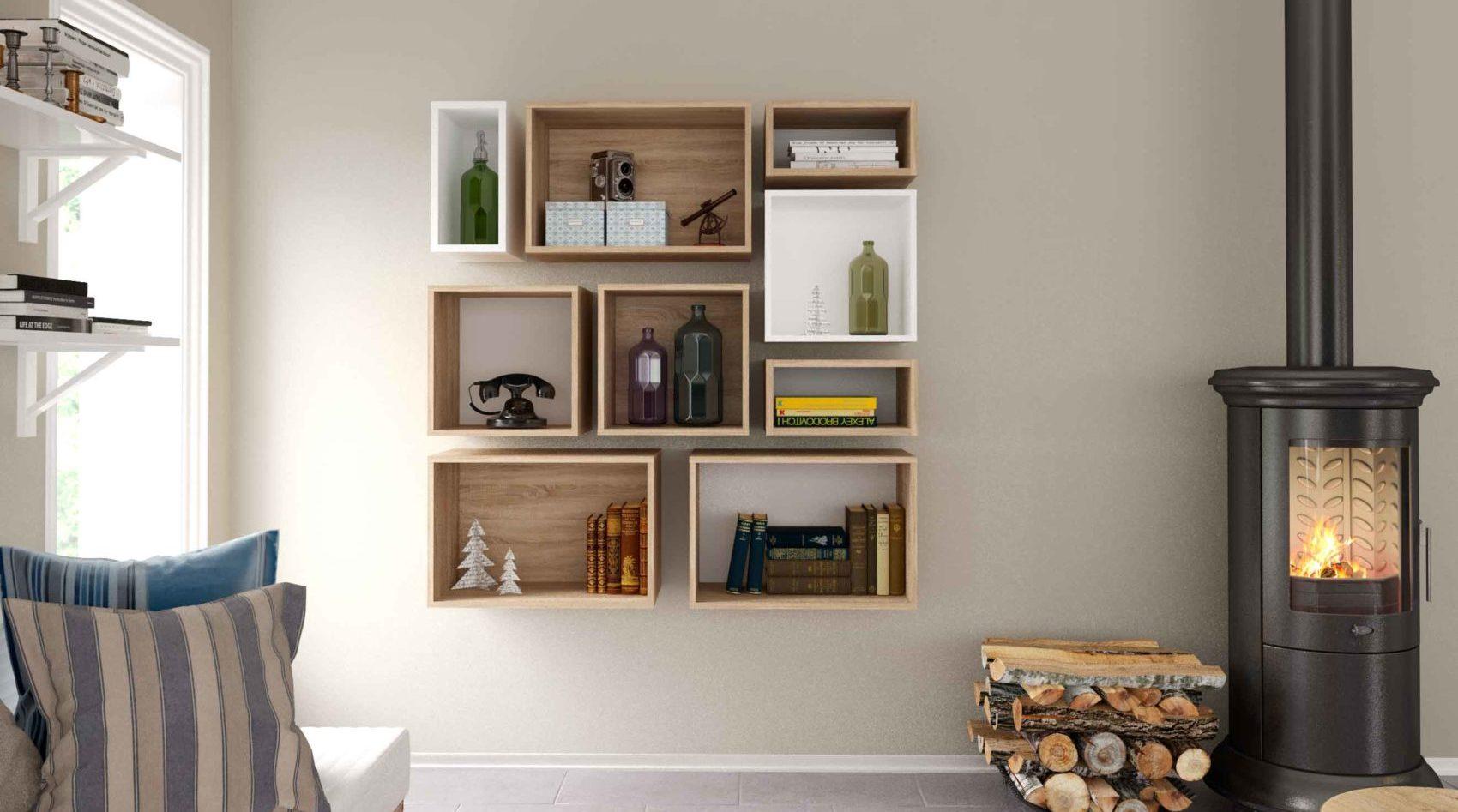 Como organizar tu hogar con estanterías originales